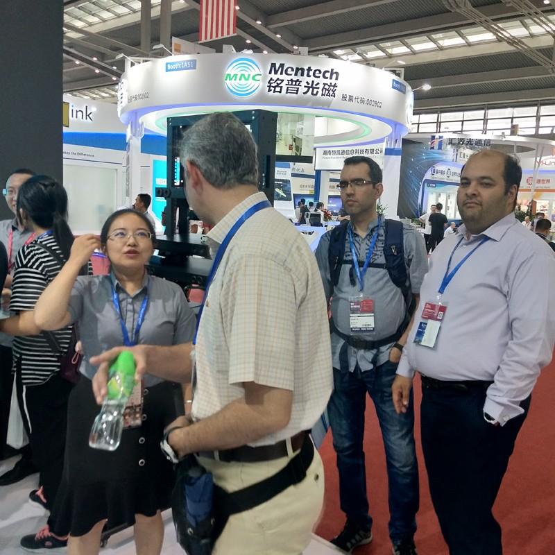 news-Fiber Hope-CIOE 2019 | Fenghaoguang Communication brings a wonderful appearance of the photoele