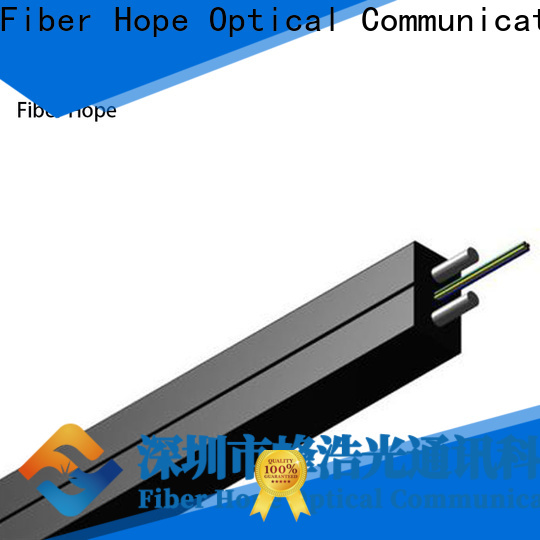 Fiber Hope light weight fiber optic drop cable indoor wiring