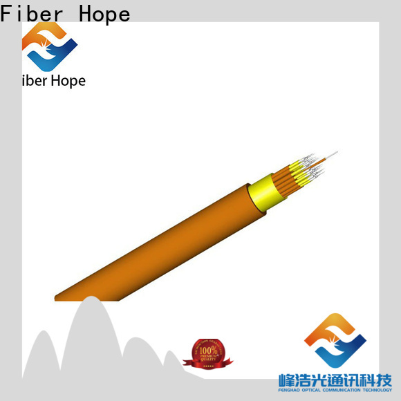 Best fiber optic cable china supplier indoor