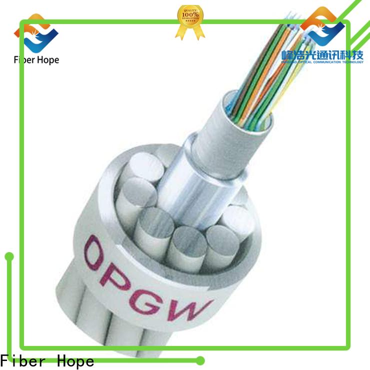 Fiber Hope Buy OPGW fiber optic cable companies communication system