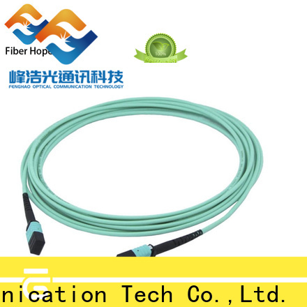 fiber cable connector types supplier communication systems
