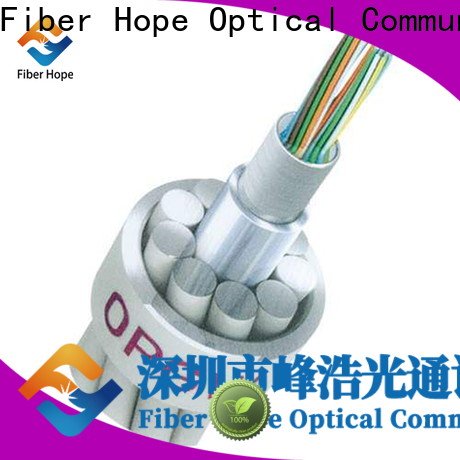 Fiber Hope optical ground wire companies communication system