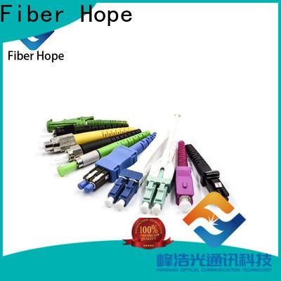 Fiber Hope Top multimode fiber patch cord manufacturer networks