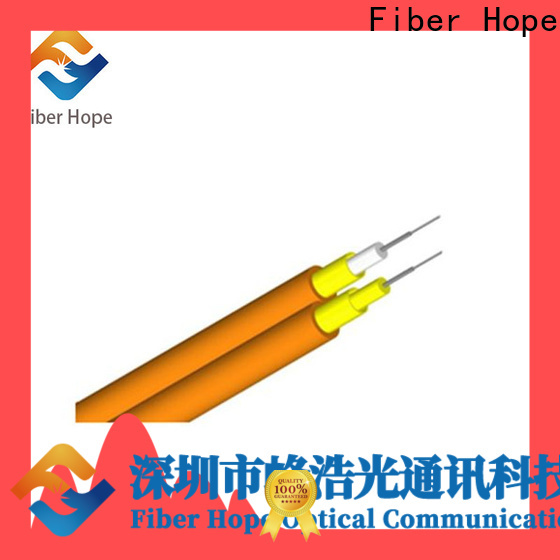 Fiber Hope mm fiber optic cable supplier switches