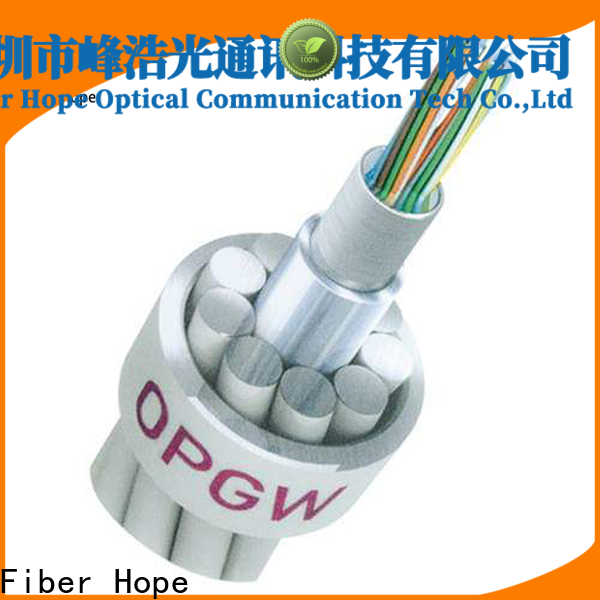 Fiber Hope Bulk OPGW fiber optic cable factory communication system