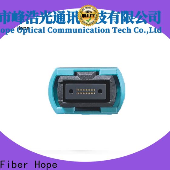 Fiber Hope Quality pre terminated single mode fiber manufacturer communication systems