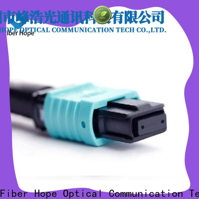 Fiber Hope Bulk lc lc single mode fiber patch cord manufacturer LANs