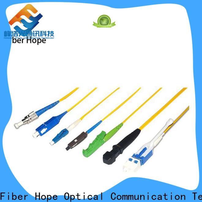 Fiber Hope Top single mode duplex patch cord wholesale networks