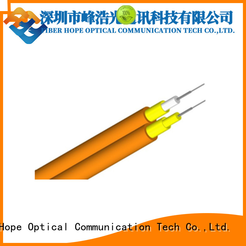 Fiber Hope clear signal fiber optic cable suitable for switches