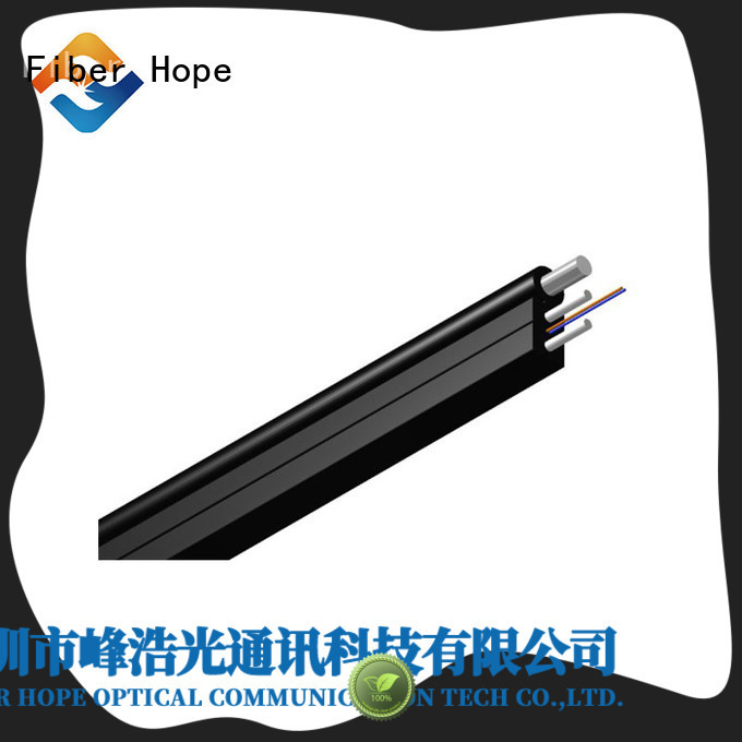 Fiber Hope ftth cable widely employed for building incoming optical cables