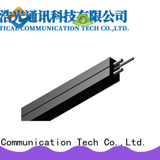 light weight ftth drop cable with many advantages building incoming optical cables