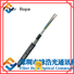 high tensile strength armored fiber cable oustanding for outdoor