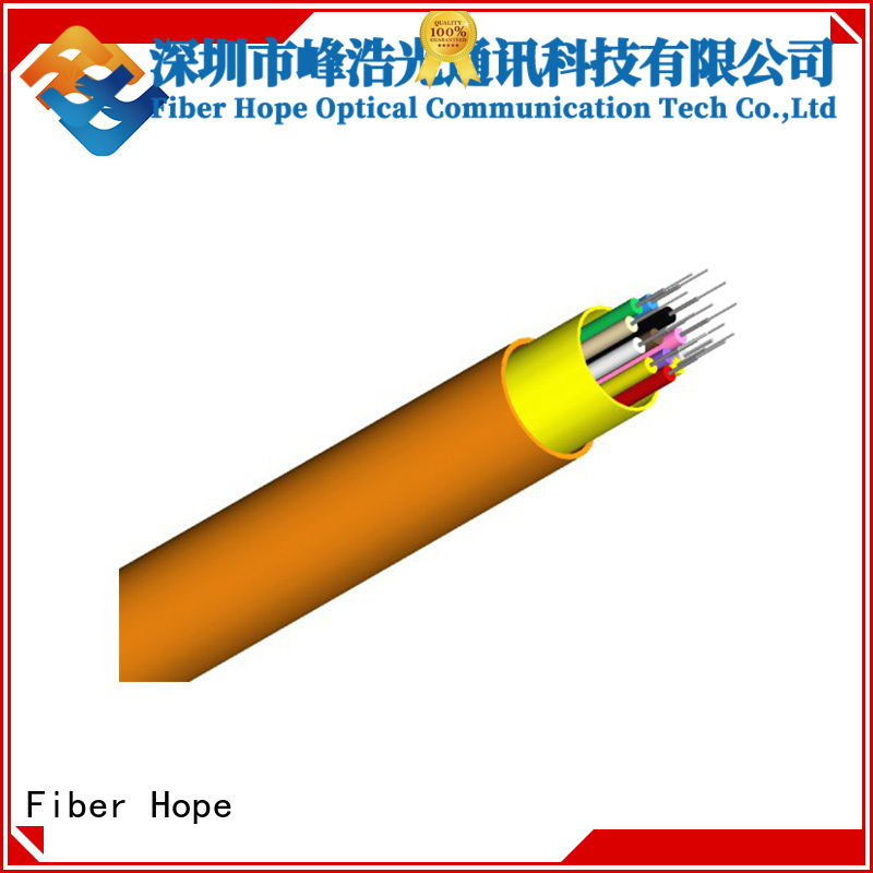 large transmission traffic indoor fiber optic cable satisfied with customers for transfer information