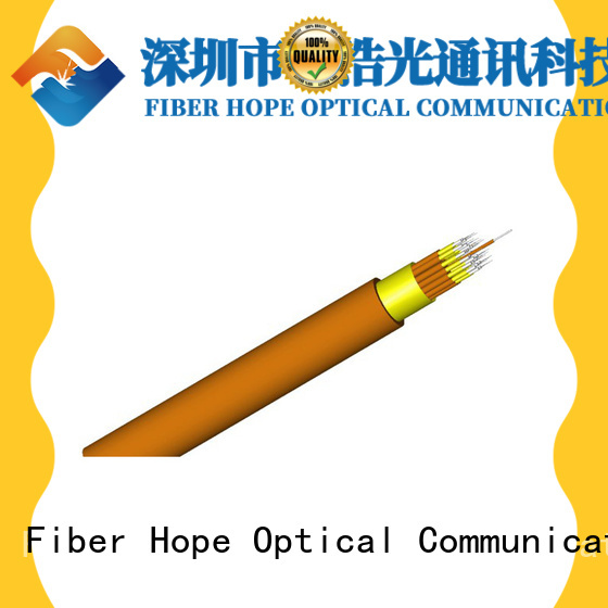 Fiber Hope large transmission traffic multicore cable satisfied with customers for indoor