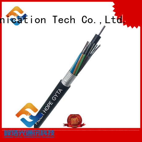Fiber Hope armored fiber cable best choise for networks interconnection
