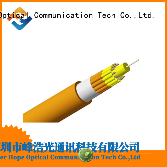 Fiber Hope clear signal multimode fiber optic cable good choise for computers