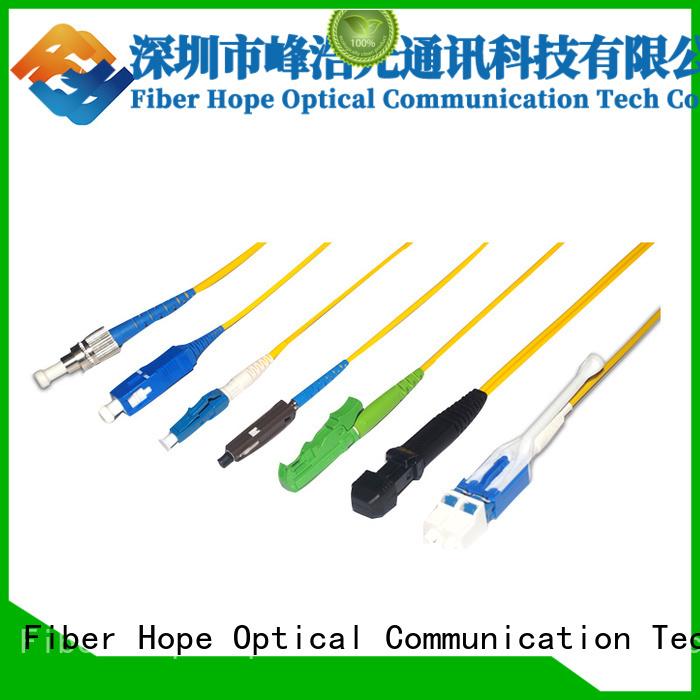 Fiber Hope fiber pigtail widely applied for WANs