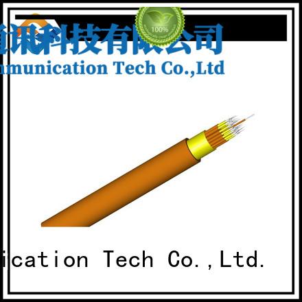 Fiber Hope clear signal 12 core fiber optic cable transfer information