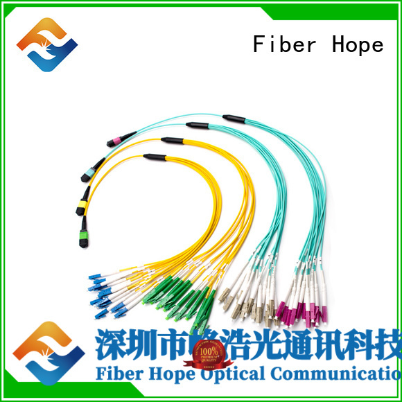 Fiber Hope mpo cable cost effective LANs