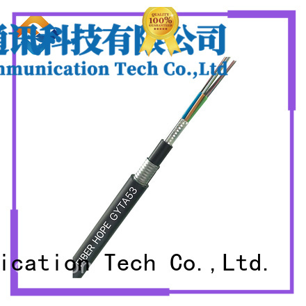 high tensile strength fiber cable types good for outdoor