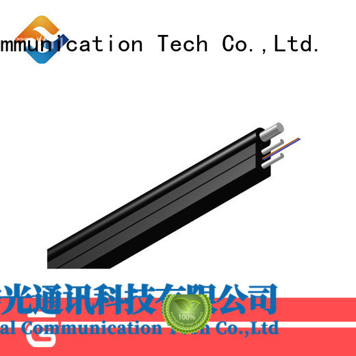 Fiber Hope light weight ftth drop cable suitable for building incoming optical cables