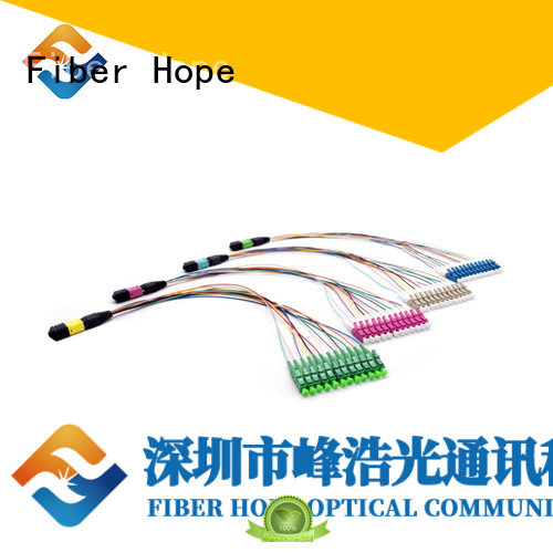 Fiber Hope cable assembly used for WANs
