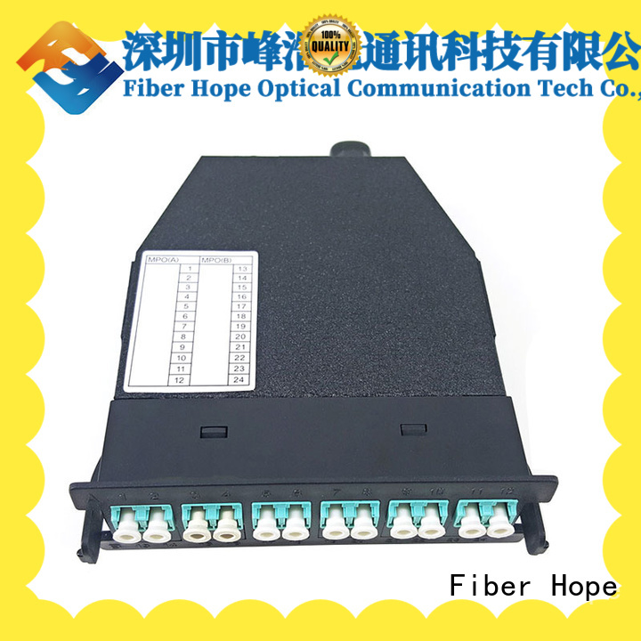 Fiber Hope mpo to lc used for networks