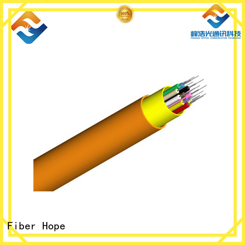 Fiber Hope clear signal multicore cable good choise for communication equipment