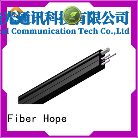 Fiber Hope fiber drop cable with many advantages building incoming optical cables
