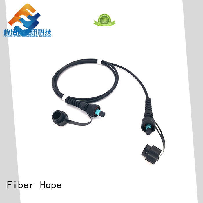 mpo cable widely applied for WANs Fiber Hope