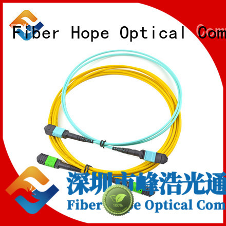 Fiber Hope good quality fiber patch cord widely applied for FTTx