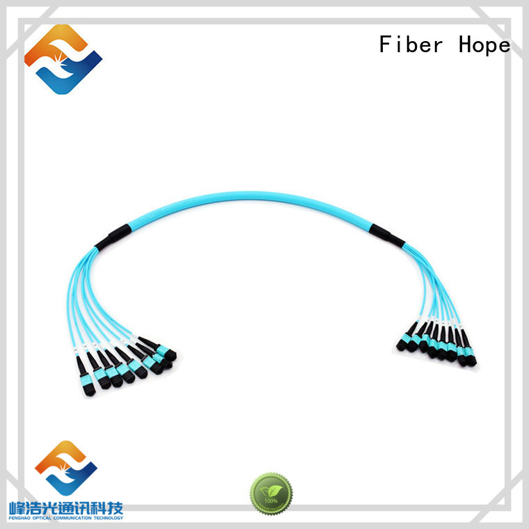 Fiber Hope mpo cable communication industry