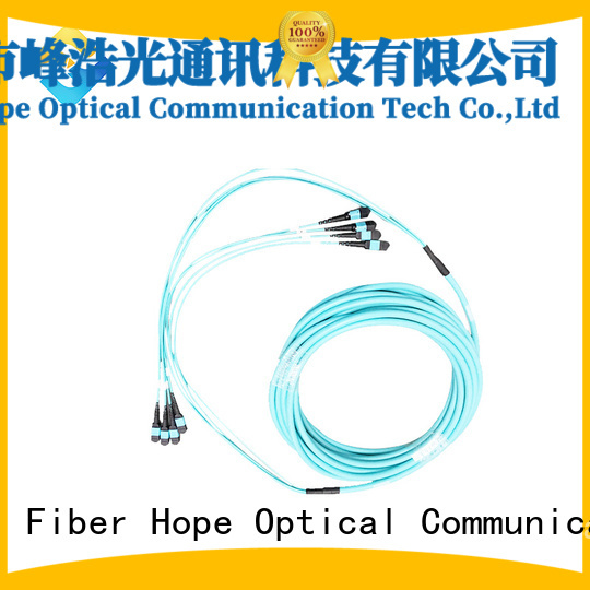 Fiber Hope efficient mpo to lc popular with LANs