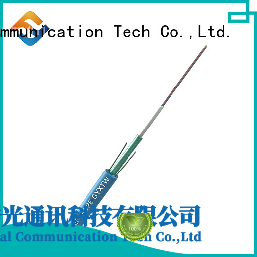 thick protective layer armored fiber optic cable oustanding for outdoor