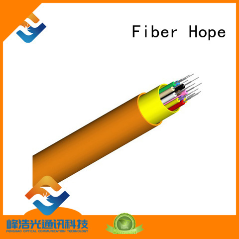 Fiber Hope 12 core fiber optic cable good choise for transfer information