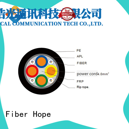 excellent bending performance bulk fiber optic cable excelent for communication system