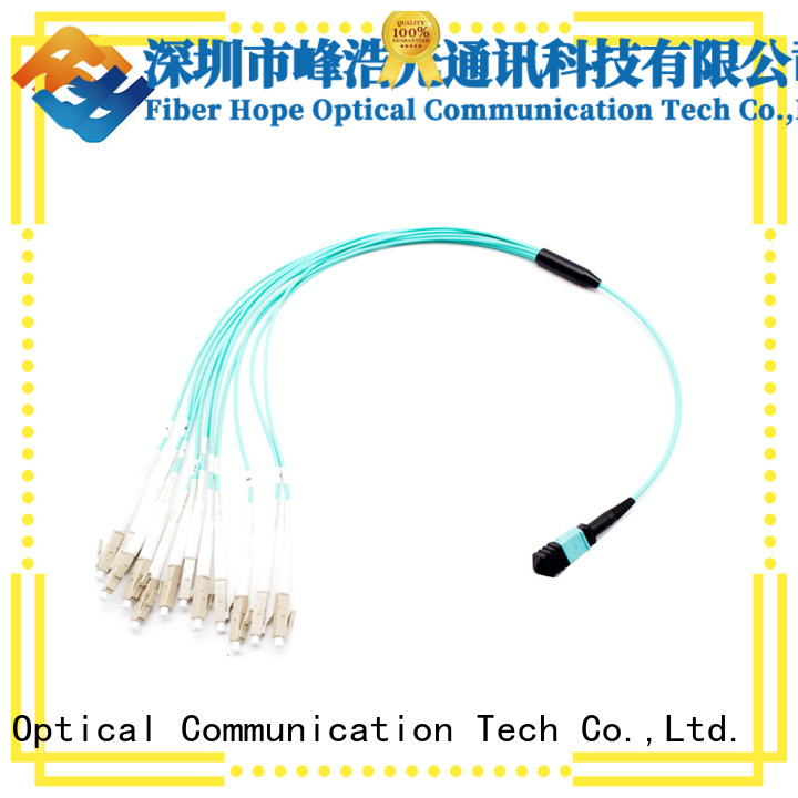 Fiber Hope harness cable used for WANs