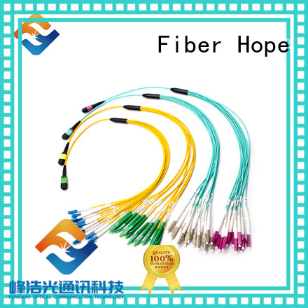 Fiber Hope mpo connector widely applied for WANs