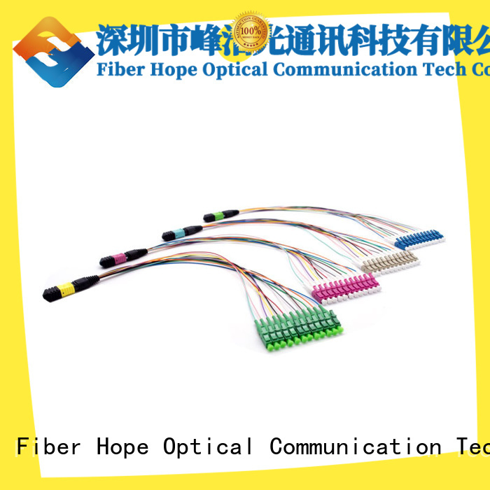 Fiber Hope mtp mpo used for basic industry