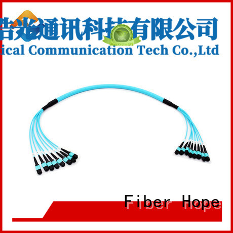 Fiber Hope breakout cable widely applied for communication industry