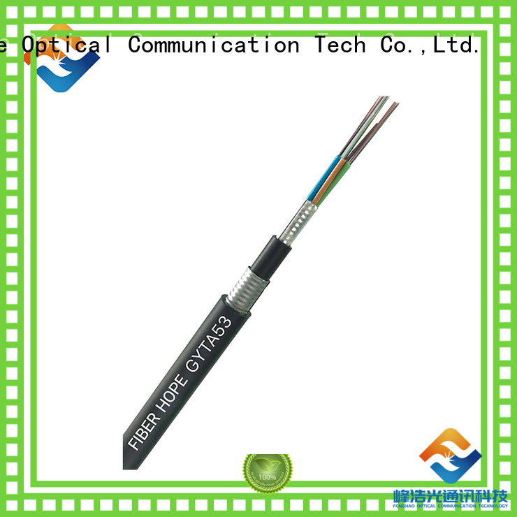 Fiber Hope thick protective layer outdoor fiber patch cable good for networks interconnection