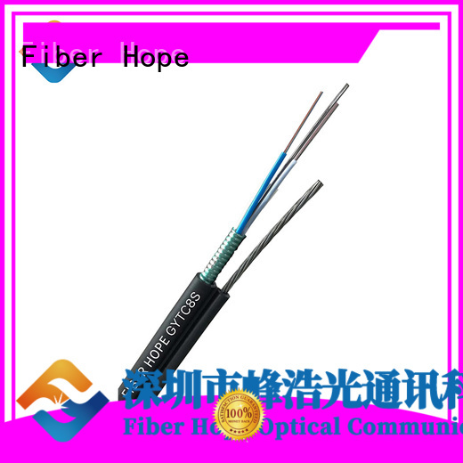 Fiber Hope waterproof armoured cable outdoor best choise for outdoor