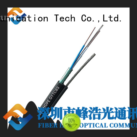 Fiber Hope armored fiber cable ideal for outdoor