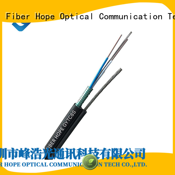 Fiber Hope thick protective layer outdoor fiber optic cable best choise for outdoor
