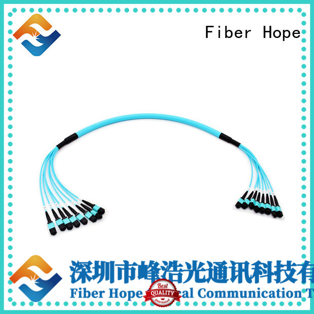 Fiber Hope mpo to lc used for communication industry
