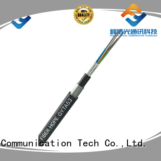 Fiber Hope outdoor fiber optic cable oustanding for networks interconnection