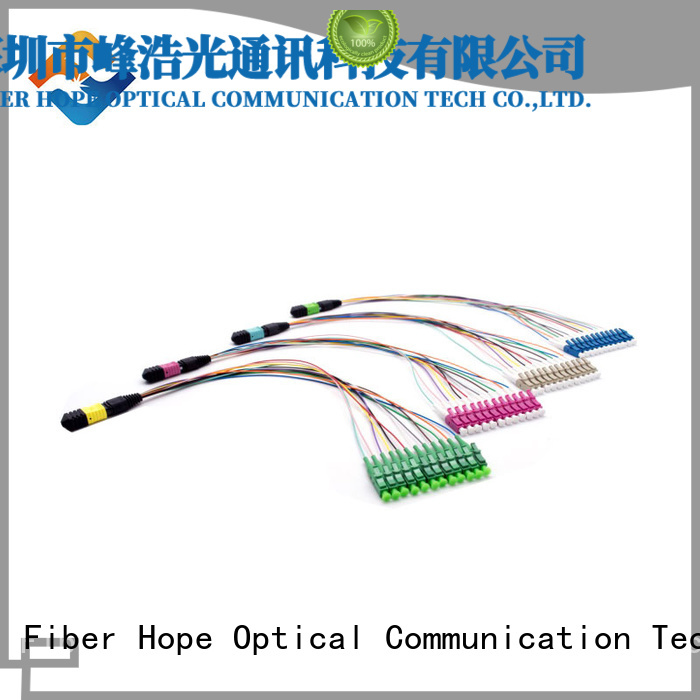 Fiber Hope mtp mpo used for LANs
