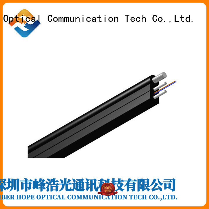 Fiber Hope strong practicability ftth cable applied for indoor wiring