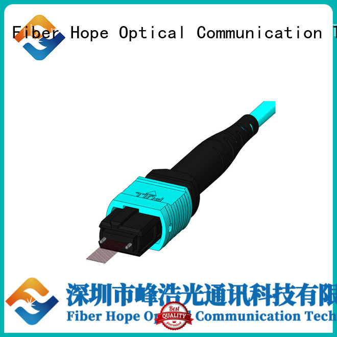 Fiber Hope good quality mpo cable widely applied for communication systems