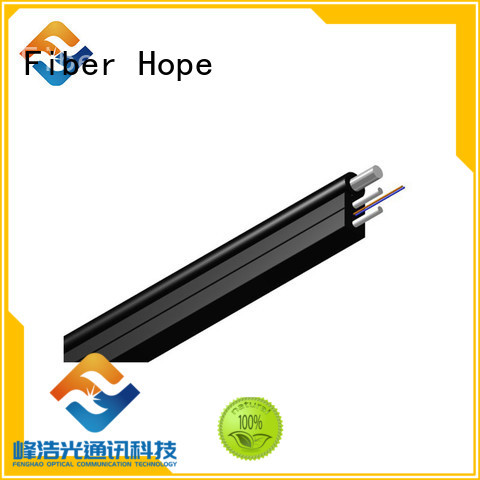 easy opertaion ftth cable widely employed for network transmission